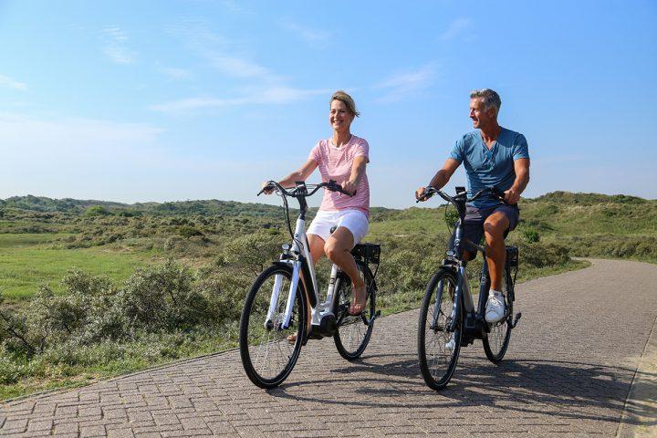De elektrische fietsen van Amslod